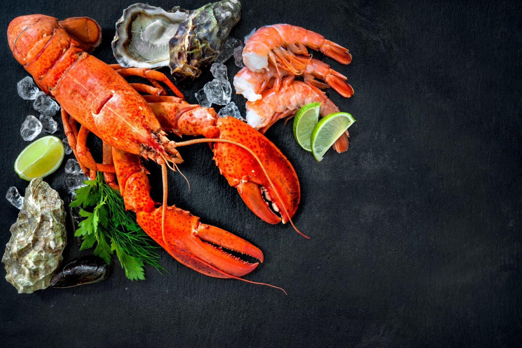 El consumo de mariscos más saludables es bueno para la salud